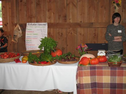 Local Helvetia produce for sale